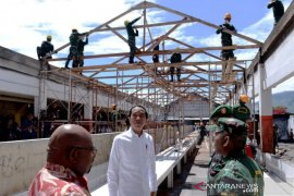Presiden targetkan percepatan rehabilitasi infrastruktur di Wamena