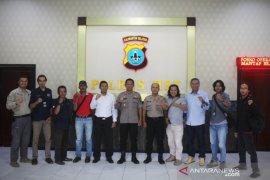 Aang berharap sinergitas Polri dengan wartawan terus meningkat