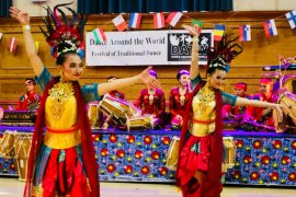 Tari Jaipongan memukau Festival Dance Around The World London
