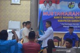 Mikdad Yeser pimpin KNPI Gorontalo Utara