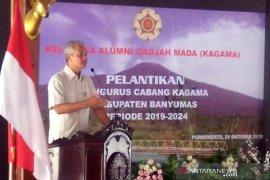 Tingkatkan pembangunan daerah, Ganjar minta Kagama bersinergi dengan pemerintah
