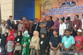 Relawan Irwandi-Nova siap kawal program Aceh hebat