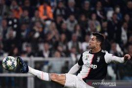 Akibat cedera lututRonaldo absen perkuat Juventus melawan Atletico