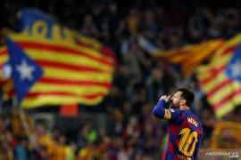 Liga Spanyol: Pique bantah Messi dan Griezmann tak akur