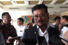 Mentan Syahrul Yasin Limpo  akan sambangi Kementerian ATR bahas data sawah