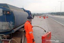 "Ternyata ini penyebab ""water barrier"" bergerak sendiri di Tol Pandaan-Malang"