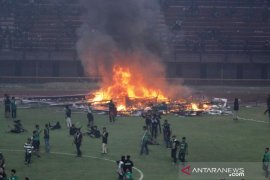 Polda usut kerusuhan suporter di Stadion GBT