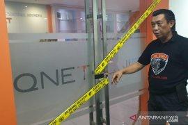 Terkait kasus penipuan, Polres Lumajang geledah Kantor Q-Net di Jakarta