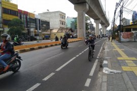 Meningkat lima kali lipat jumlah pengguna sepeda di Jaksel