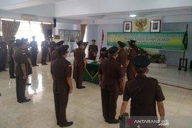 Enam pejabat di Kejati Bengkulu dilantik