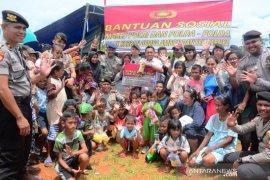Korban gempa, Polda Maluku kembali salurkan bantuan sosial