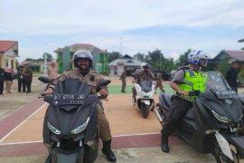 FKPD Kukar Pantau Pelaksanaan Pilkades Serentak 2019