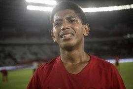 Bek Timnas Indonesia Alfin Farhan Lestaluhu meninggal dunia karena radang otak