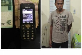 Pelaku perjudian toto gelap Singapura ditangkap polisi Langkat