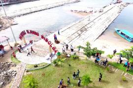 Objek wisata Pantai Ujung Sibolga dioperasikan, warga diminta tidak lagi merusak fasilitas
