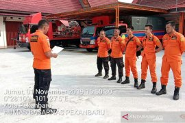 Tim Basarnas cari juru masak Tugboat yang tenggelam di Sungai Siak