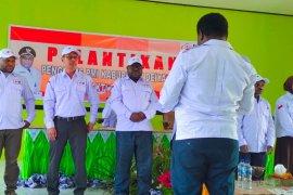 PMI Papua melantik pengurus PMI Kabupaten Deiyai
