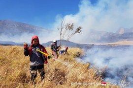 Pasca-kebakaran hutan, jalur pendakian Gunung Rinjani kembali dibuka