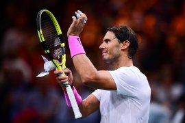 Tenis Paris Masters, Nadal sumpal Tsonga untuk maju ke semifinal