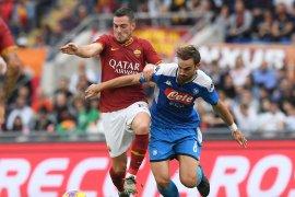 Hasil Liga Italia, AS Roma menang 2-1 atas Napoli