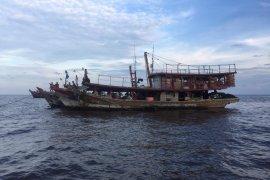 Tujuh kapal nelayan Tanjung Balai ditangkap Polda Riau