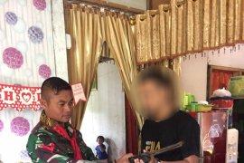 Satgas 734/SNS terima penyerahan senjata api sukarela dari warga Ternate