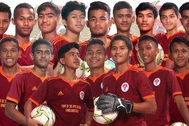 Tim Indonesia untuk Asia Schools Football U-18 terbentuk