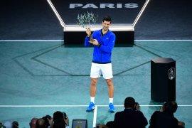 Tenis, Djokovic juara Paris Masters untuk kelima kalinya