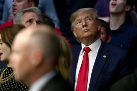 Niat tonton tarung bebas Trump malah diejek penonton