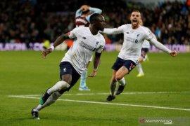 Gol injury time Mane bantu Liverpool tundukkan Aston Villa 2-1
