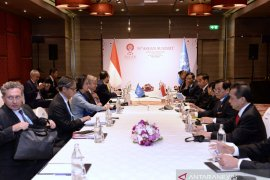 Jokowi Bahas Krisis Rakhine State dan Palestina bersama PBB