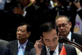 Jokowi sampaikan pandangan pemulihan situasi di Rakhine State