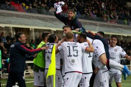 Hasil Liga Italia: Cagliari menang 2-0 di markas Atalanta