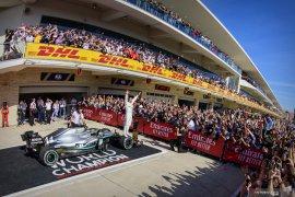 Berikut hasil GP Amerika Serikat, Hamilton pupuskan harapan Bottas