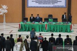 Anggota DPRD Kabupaten Kepulauan Tanimbar Periode 2019-2024 dilantik
