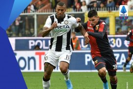 Hasil Liga Italia: Udinese bawa pulang tiga poin dari kandang Genoa