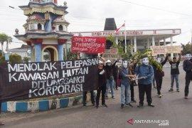 Aktivis: hutan Bengkulu bukan untuk alat politik