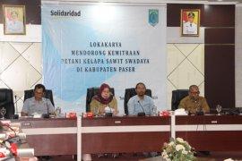 Solidaridad Fasilitasi Kemitraan Dua Kelompok Petani Paser