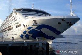"Pelabuhan Gili Mas dikunjungi kapal pesiar ""Sun Princess"""