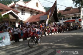 Cristian Reaileanu finish terdepan di etape IV Tour de Singkarak 2019