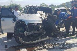 Mobil rombongan Polres Jember kecelakaan di Tol Paspro, seorang meninggal dunia