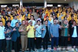Wakil Walikota Hermansyah hadiri seminar Himpunan Pengusaha Muda Indonesia (HIPMI)