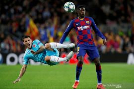 Ousmane Dembele terancam absen bela Barcelona hingga akhir musim