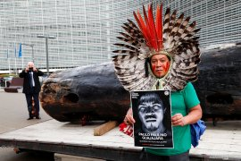 Suku pribumi Brazil menentang langkah Bolsonaro rusak hutan Amazon