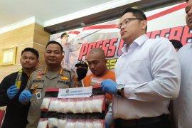 Bawa 1,3 kg sabu dari Medan, pria ini ditangkap Polresta Denpasar