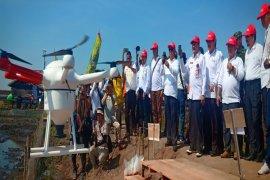 Drone dan traktor perahu sokong keberhasilan Demfarm Serasi
