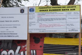 Dinas SDA DKI tidak tampilkan anggaran di plang proyek Waduk Sunter