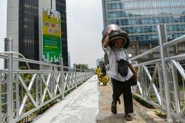 Pemprov DKI klaim mayoritas masyarakat Jakarta setuju JPO terbuka
