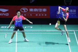 Gagal di Fuzhou China Open, ganda campuran Indonesia Hafiz/Gloria akui penampilannya menurun
