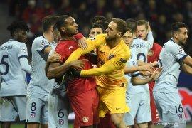 Atletico Madrid gagal mengamankan tiket fase gugur Liga Champions
